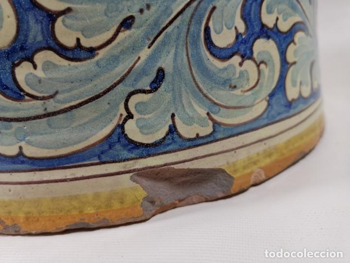 Antigüedades: BONITO BASTONERO - PARAGUERO EN FORMA DE JARRA EN CERAMICA DE TALAVERA (NIVEIRO) - Foto 29 - 278548053