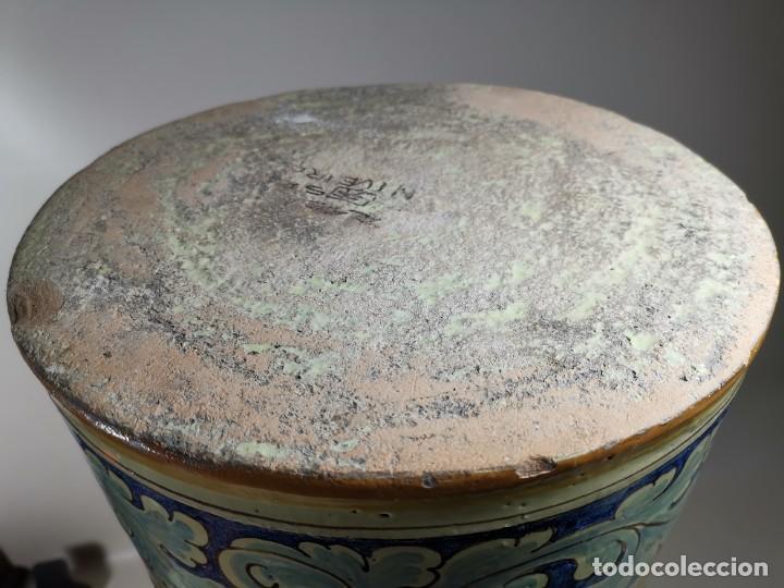 Antigüedades: BONITO BASTONERO - PARAGUERO EN FORMA DE JARRA EN CERAMICA DE TALAVERA (NIVEIRO) - Foto 45 - 278548053