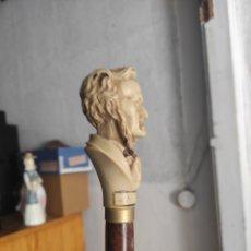 Antigüedades: BASTÓN PERSONAJE. Lote 278564618