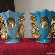 Antigüedades: PAREJA JARRONES SEVRES. Lote 278569673