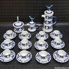 Antiquités: JUEGO DE CAFÉ 12 SERVICIOS SARGADELOS. Lote 278574643