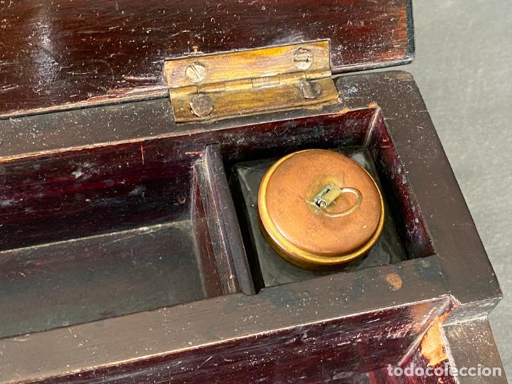 Antigüedades: ANTIGUO ESCRITORIO DE VIAJE , ESCRIBANÍA . - Foto 3 - 278617773
