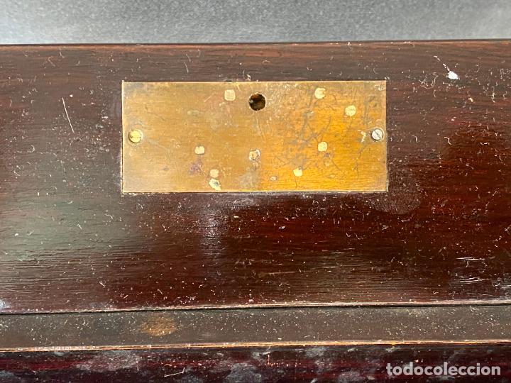 Antigüedades: ANTIGUO ESCRITORIO DE VIAJE , ESCRIBANÍA . - Foto 5 - 278617773