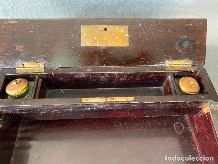 Antigüedades: ANTIGUO ESCRITORIO DE VIAJE , ESCRIBANÍA . - Foto 8 - 278617773