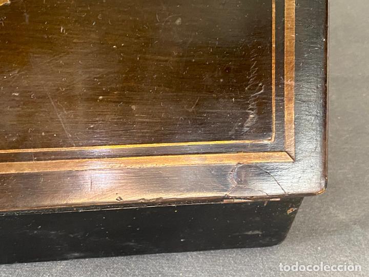 Antigüedades: ANTIGUO ESCRITORIO DE VIAJE , ESCRIBANÍA . - Foto 10 - 278617773