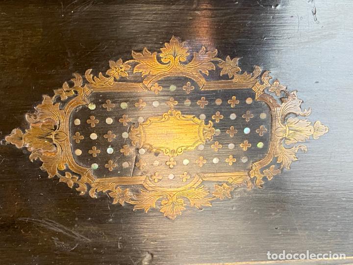 Antigüedades: ANTIGUO ESCRITORIO DE VIAJE , ESCRIBANÍA . - Foto 11 - 278617773
