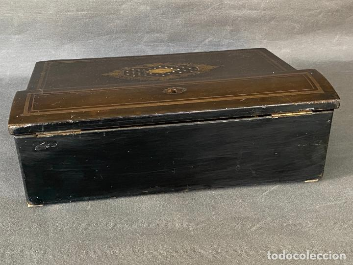 Antigüedades: ANTIGUO ESCRITORIO DE VIAJE , ESCRIBANÍA . - Foto 14 - 278617773