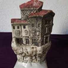 Antigüedades: ANTIGUA FIGURA CERÁMICA CUENCA PATRIMONIO DE LA HUMANIDAD. Lote 278621323