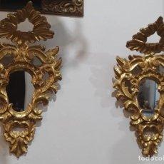 Antigüedades: PAREJA CORNUCOPIAS ISABELINAS. Lote 278623518