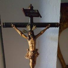 Antigüedades: ANTIGUO CRISTO CRUCIFICADO OLOT. Lote 278637418