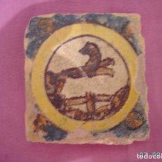 Antigüedades: AZULEJO DE TRIANA DEL SIGLO XVIII.. Lote 278642773