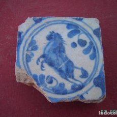 Antigüedades: ANTIGUO AZULEJO DE TRIANA.SIGLO XVIII.. Lote 278674068