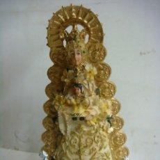 Antigüedades: FIGURA EN RESINA DE LA VIRGEN DEL ROCIO,ES NUEVA. Lote 278678308