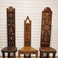 Antigüedades: SILLAS VIEJA ESPAÑA. Lote 278809223