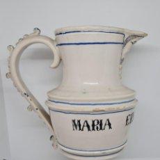 Antigüedades: EXCEPCIONAL JARRA PERSONALIZADA EN CERAMICA DE MANISES,(VALENCIA),S. XIX. Lote 278815528