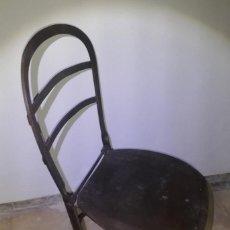 Antigüedades: SILLA DE METAL AÑOS TREINTA. Lote 278834153