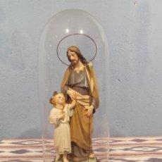 Antigüedades: FIGURA RELIGIOSA DEL SIGLO XIX. Lote 278870018