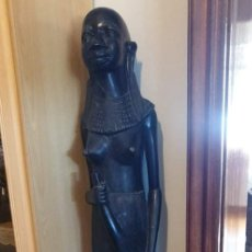 Antigüedades: DOS FIGURAS FEMENINAS AFRICANAS. Lote 278882558