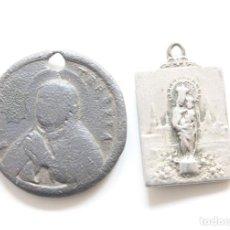 Antigüedades: LOTE DOS MEDALLAS SIGLO XVIII Y XIX.. Lote 278927428