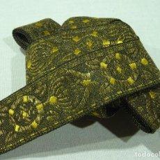 Antigüedades: GALON HILO METALICO DE ORO. Lote 278932773