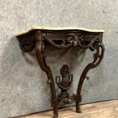 Antigüedades: CONSOLE GALBÉE ÉPOQUE LOUIS XV EN BOIS NATUREL. Lote 278956188