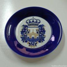 Antigüedades: PLATO DE SARGADELOS ESCUDO DE PONTEVEDRA - IMPECABLE. Lote 278981698