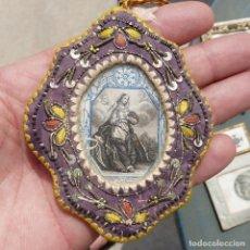 Oggetti Antichi: RELICARIO SANTA CATHERINE, SIGLO XIX. Lote 279383833