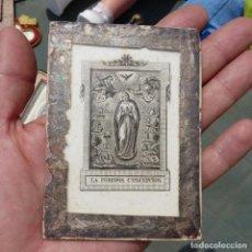 Antigüedades: ESCAPULARIO DE LA PURISIMA CONCEPCION, SIGLO XIX. Lote 279384043