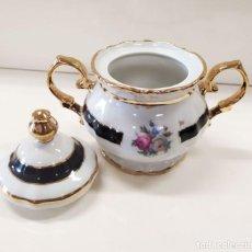 Antigüedades: JUEGO DE CAFÉ LIMOGES. Lote 279407463