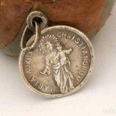 Antigüedades: MEDALLA PLATA MARIA AUXILIUM CHRISTIANORUM (#148). Lote 279423793