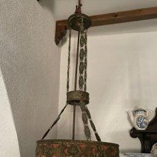 Antigüedades: LÁMPARAS. Lote 279458088