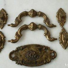 Antigüedades: TIRADORES DE COMODA. Lote 279555803