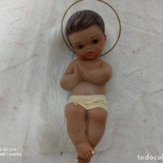 Antigüedades: ANTIGUA FIGURA NIÑO JESUS EN CUNA.. Lote 280114683