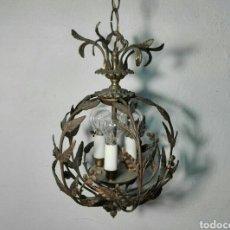 Antigüedades: LÁMPARA. Lote 280126633