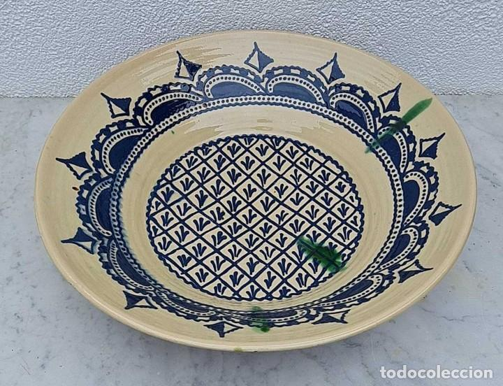 ANTIGUO LEBRILLO, BOL O BARREÑO, ES ENORME, FIRMADO TITO ÚBEDA, 48 CM. DE DIAMETRO... (Antigüedades - Porcelanas y Cerámicas - Úbeda)