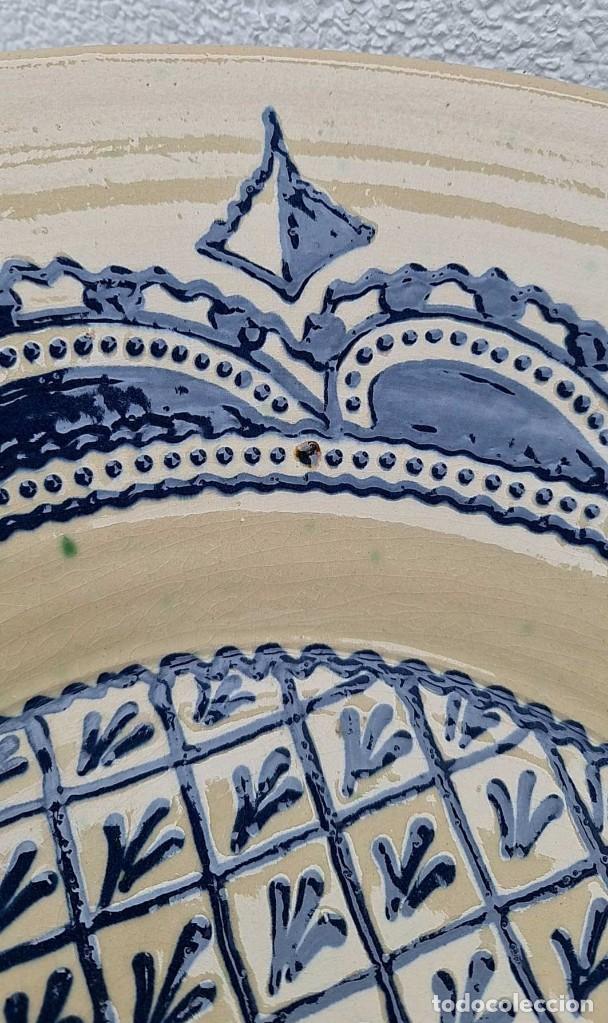 Antigüedades: ANTIGUO LEBRILLO, BOL O BARREÑO, ES ENORME, FIRMADO TITO ÚBEDA, 48 CM. DE DIAMETRO... - Foto 7 - 280335853
