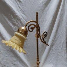 Antigüedades: LAMPARA PLUMA TULIPA ESCRITORIO. Lote 280395893