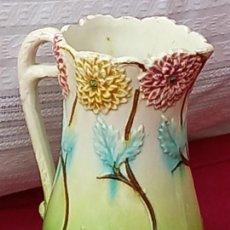 Antigüedades: JARRA ANTIGUA EN CERAMICA DE MANISES ( VALENCIA ) SIGLO XIX.. Lote 280415233