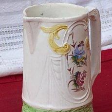 Antigüedades: JARRA ANTIGUA EN CERAMICA DE MANISES ( VALENCIA ) SIGLO XIX.. Lote 280415598