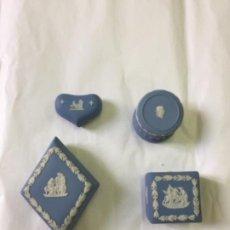 Antigüedades: LOTE 4 CAJAS PORCELANA WEDGWOOD. Lote 280580398