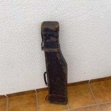 Antigüedades: ANTIGUO PORTA ESCOPETA DE CAZA. Lote 280700388