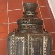 Antigüedades: LAMPARA MORA ANTIC. Lote 280728423