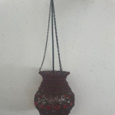 Antigüedades: LÁMPARA TURCA ANTIGUA. Lote 281028623
