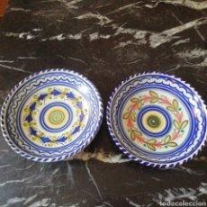 Antigüedades: 2 GRANDES PLATOS TALAVERA. Lote 281770728