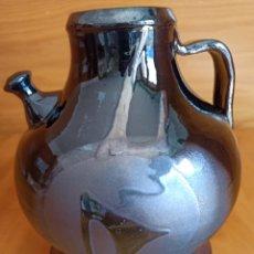 Antigüedades: JARRÓN FIRMADO VILÀ CLARA, ESPECTACULAR. Lote 281777493