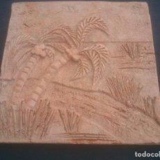 Antigüedades: ANTIGUA TRABAJO DE BARRO DECORADO A MANO.. Lote 281801193