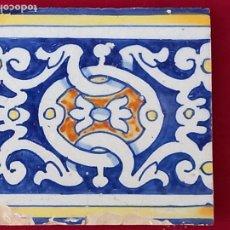Antigüedades: AZULEJO ANTIGUO DE TALAVERA DE LA REINA ( TOLEDO ). RENACIMIENTO - SIGLO XVI.. Lote 281931198