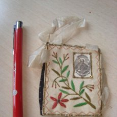 Antiquités: ESCAPULARIO DE SAN AGUSTIN. Lote 282008068