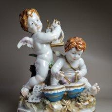 Antiquités: CONJUNTO RONDA ANGELES QUERUBINES MUSICOS-ALGORA. Lote 282194213