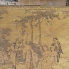 Antigüedades: TAPIZ - 140 × 49 CM.. Lote 282874058